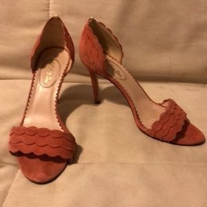 SJP Sarah Jessica Parker Pink Heels